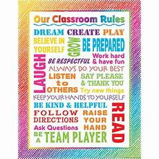 Welcome Chart For Classroom Colorful Scribble Our Classroom Rules Chart Tcr7524