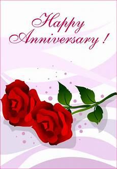 Card Image Happy Anniversary Roses Happy Anniversary Card Free