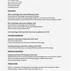 Essay On Curriculum Academic Curriculum Vitae Cv Example And Writing Tips