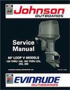 1992 Johnson Evinrude Quot En Quot 90 Degrees Loop V Service