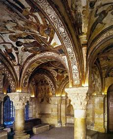 romanesque mural paintings second half of the 12th century