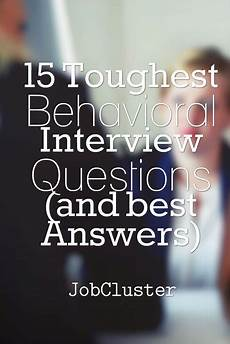 Situational Questions And Answers Top 12 Behavioral Interview Questions And Sample Answers