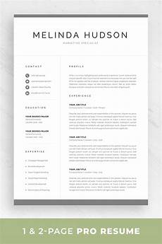 Pages Resume Template Mac Modern Resume Template For Word Amp Mac Pages Professional