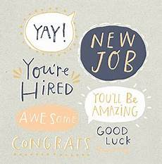 Congrats On New Job Card Awesome New Job Congratulations Card Funky Pigeon