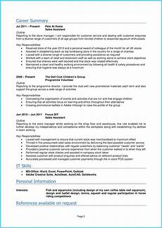Free Cv Template For Students Student Cv Template And Examples School Leaver Graduate