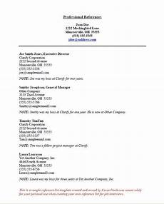 Examples Of References On Resume How To Create A Reference List Sheet For Job Interviews