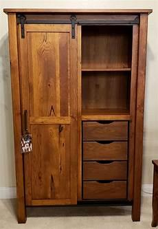 farmhouse hickory pantry cabinet oak creek amish furniture