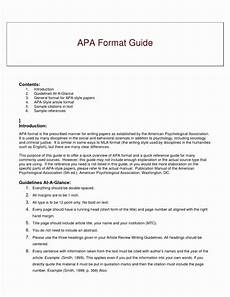 Download Apa Style Template Apa Style Research Er Template Word Sample Outline 6th