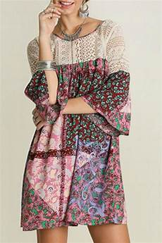 patchwork dress umgee usa paisley patchwork dress from mississippi by exit