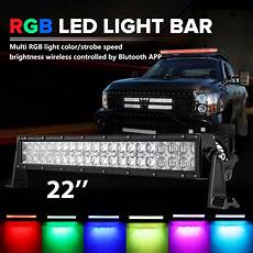 Colored Light Bar Covers 24inch 280w Cree Rgb Led Light Bar Strobe Flash Multi