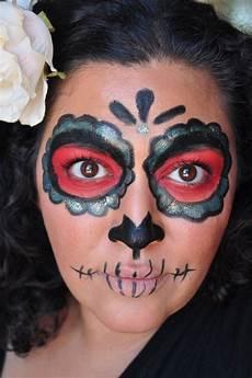 easy dia de los muertos makeup inspiration painted