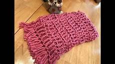 crochet scarf beginner fast and easy