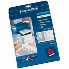 Avery Business Card Creator Avery C32026 10 Business Cards 85 X 54 Mm 270 Gsm Laser
