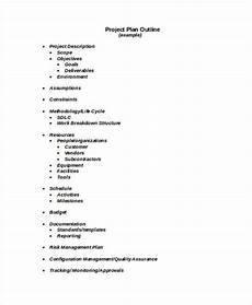 Sample Project Outline 28 Outline Templates In Word Free Amp Premium Templates