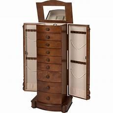 armoire jewelry cabinet box storage chest stand organizer