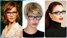 kurzhaarfrisuren mit brille 2016 die moderne 20 ideen zu frisuren f 252 r brillentr 228 gerinnen