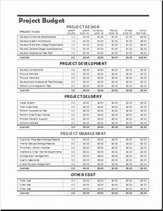 Project Budget Templates Project Budget Templates For Ms Excel Excel Templates