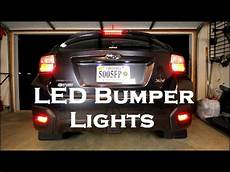 2013 Subaru Crosstrek Light Bulb Subaru Led Bumper Lights 2013 Subaru Crosstrek Youtube