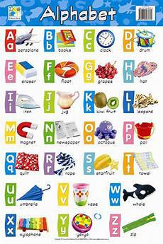 Alphabet And Number Wall Charts Products Art Amp Craft Materials Stationery Office