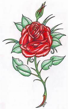 Rose Designs Red Rose Design