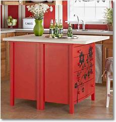discounted kitchen islands cheap and simple diy kitchen island the homestead