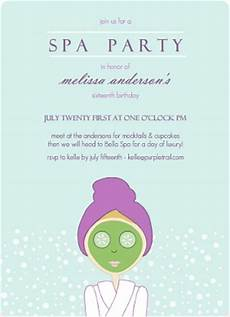 Spa Party Invitation Wording Kids Spa Party Ideas Amp Tips From Purpletrail