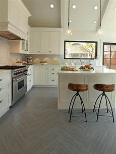 ideas for kitchen floor tiles kitchen flooring ideas hgtv