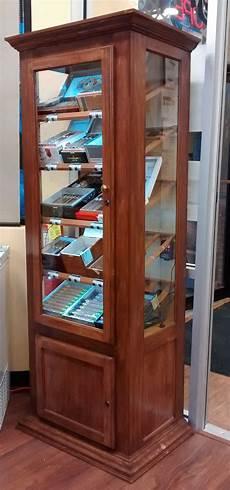handmade tower retail humidor display cabinet by humidor