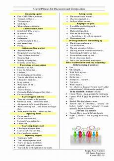 Essay Phrases Useful Phrases For Discussion And Composition