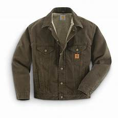 Jean Jacket Denim Guide Carhartt Sandstone Denim Jean Jacket 594017 Uninsulated