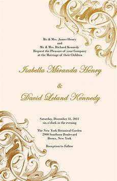 Invitation Front Page Design Elegant And Beautiful Wedding Invitations For Free