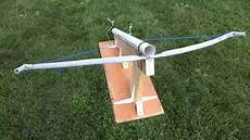 Ball Launcher Design Crossbow Launcher Project 2014 Youtube