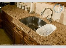 The decorative ogee edge creates a traditional atmosphere along with the elegant sink bump out