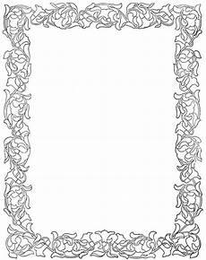 floral frames printables doodle frames book of