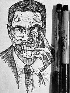 Malcolm X Designs Commission My Work