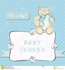 Baby Shower Invite Backgrounds Baby Shower Invitation With Dot Background Royalty Free