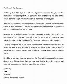 Recommendation Letter Template For Graduate School Free 45 Sample Letters Of Recommendation For Graduate