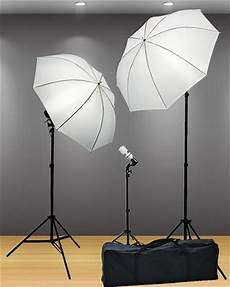 How To Use Umbrella Lights In Video Fancierstudio 3 Point Umbrella Lighting Kit With Carrying