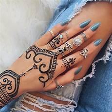 Henna Ring Designs Rings Henna Black Henna Nail Paint татуировки