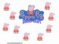 Peppa Pig Sticker Reward Chart Peppa Pig Reward Charts