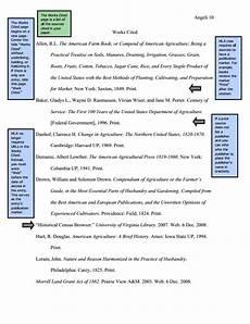 Purdue Owl Mla Mla Sample Paper From Owl Purdue English Education