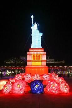 Selma Texas Festival Of Lights Santas Chinese Lanterns Come Together At Selma S Holiday