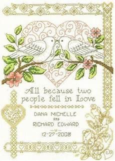 Free Wedding Cross Stitch Patterns Charts All Because Cross Stitch Pattern By Imaginating