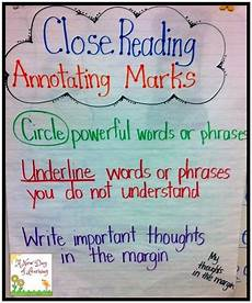 C Chart Text Annotation Example 21 Cool Anchor Charts To Teach Close Reading Skills