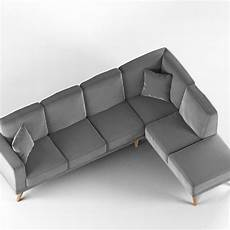 Sofa L 3d Image by Modern L Shaped Sofa 3d Cgtrader