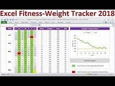 Weight Tracking Spreadsheet Excel Fitness Tracker And Weight Loss Tracker For 2018