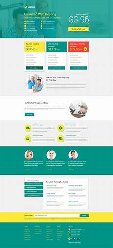 Video Landing Page Template Hosting Responsive Landing Page Template 53399