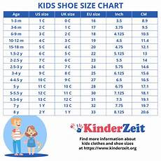 Toddler Youth Size Chart ᐅ Kids Shoe Sizes Children S Shoe Sizes By Age Boys