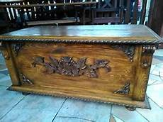 wooden blanket box coffee table trunk vintage chest wooden