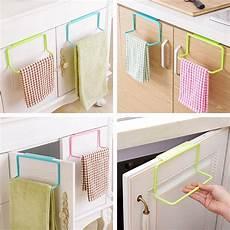 metal door tea towel rack bar hanging holder rail